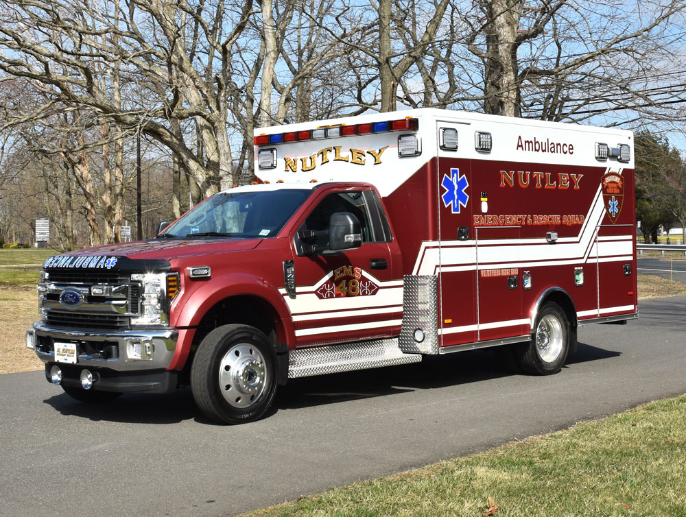 nutley volunteer emergency rescue squad